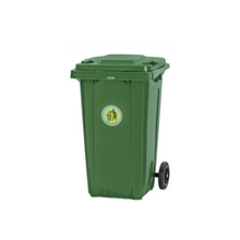 240L Two Wheels Mobile Outdoor Plastic Garbage Container