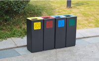 How to Design An Outdoor Trash Bin?